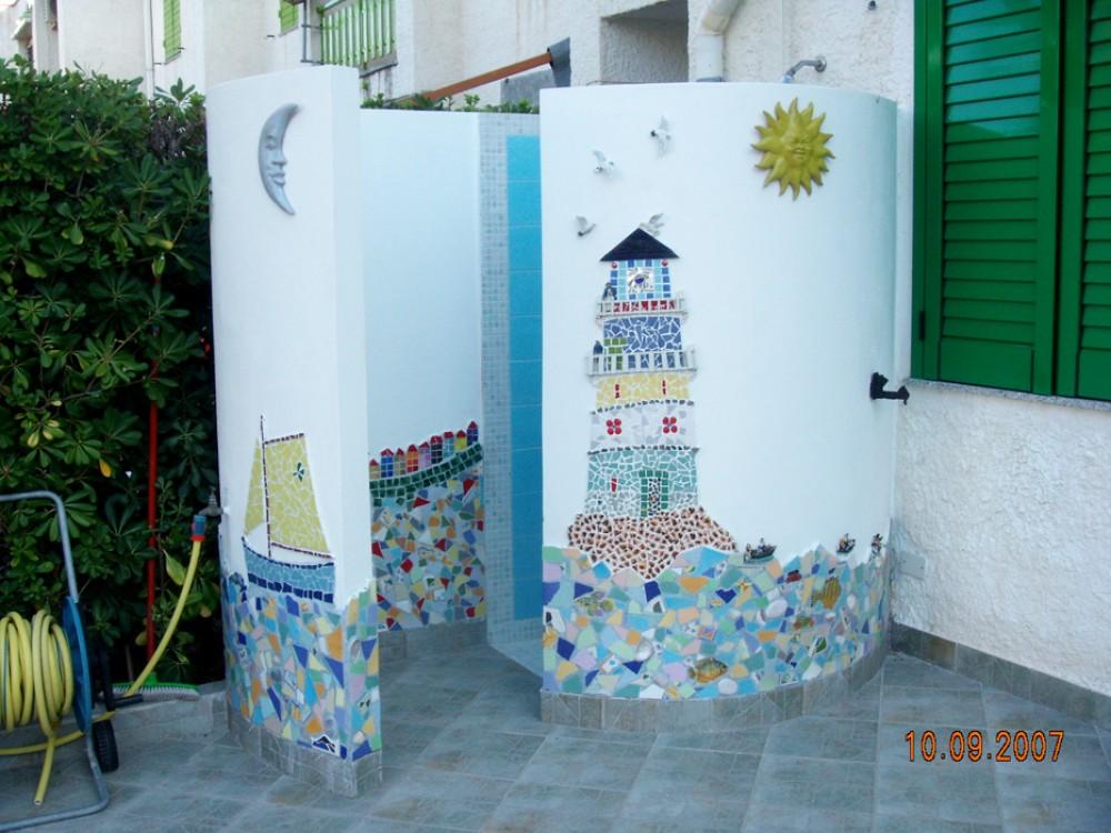 Messina vacation rental with DOCCIA ESTERNA RISCALDATA