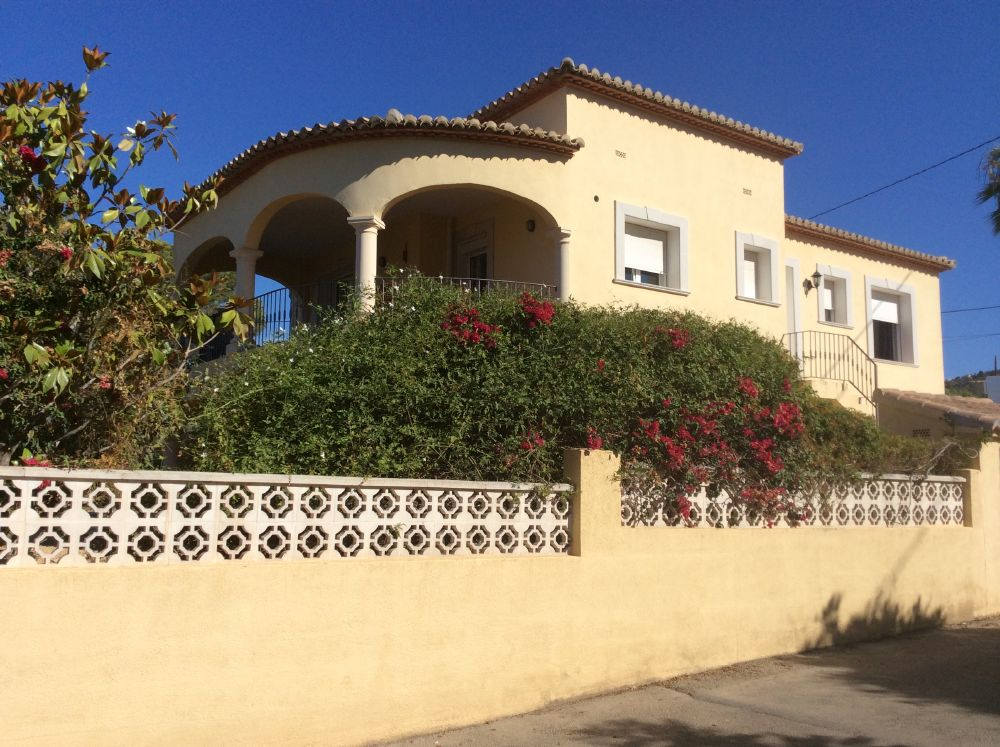 4 Bed Short Term Rental Villa Calpe