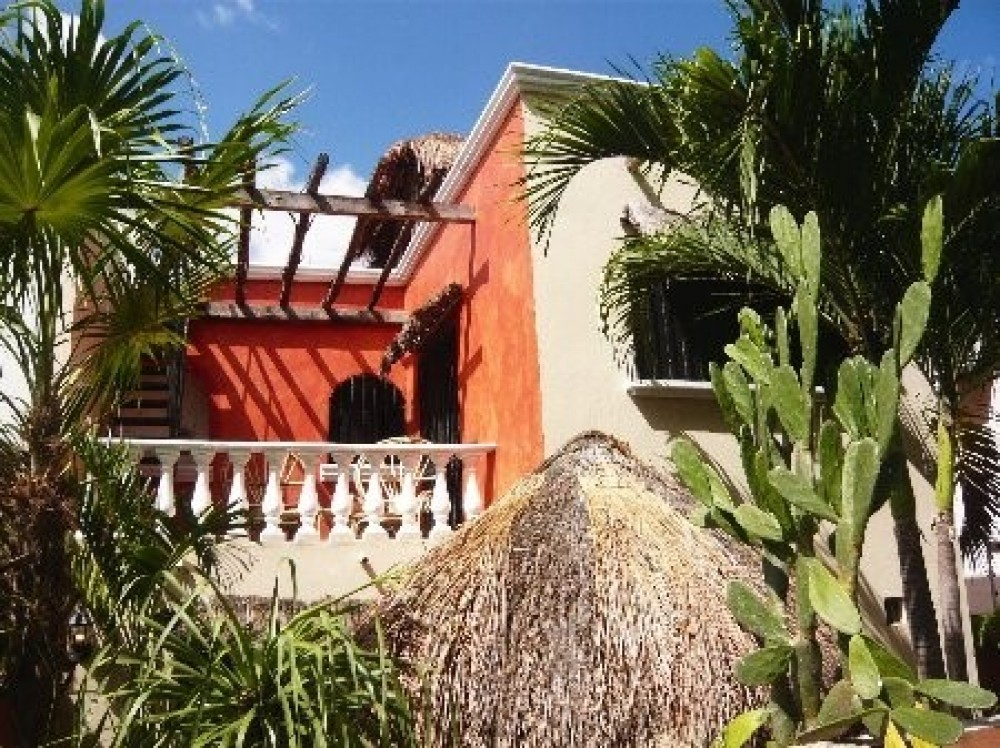 Cancun vacation rental with Villa Maya seen from Garden patio