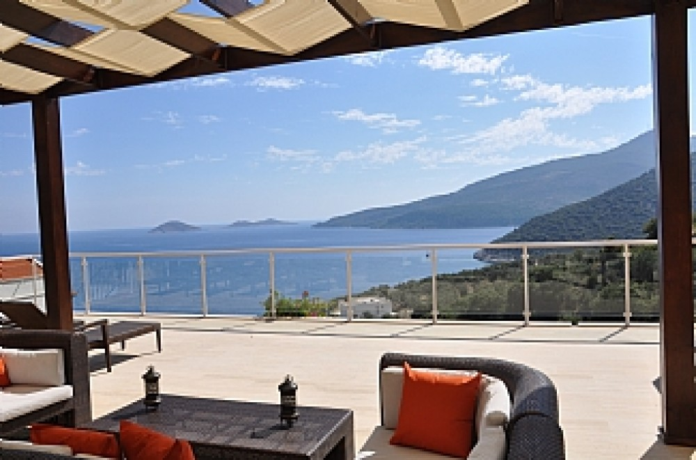 Kalkan vacation rental with