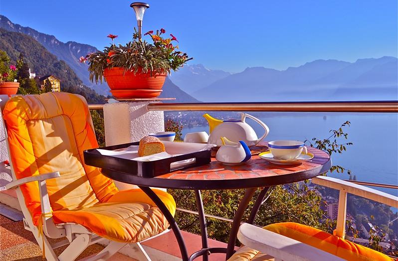 Balcon sur le Leman - Montreux Holiday Rentals