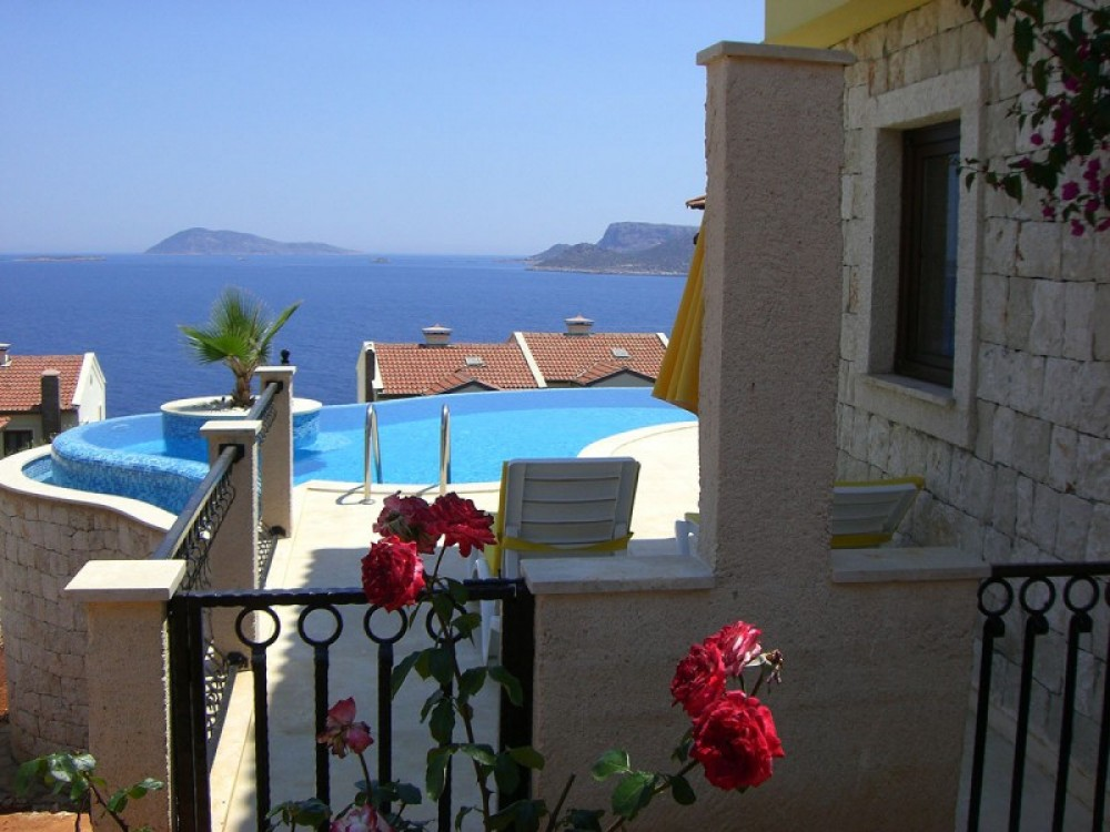 Kas vacation rental with