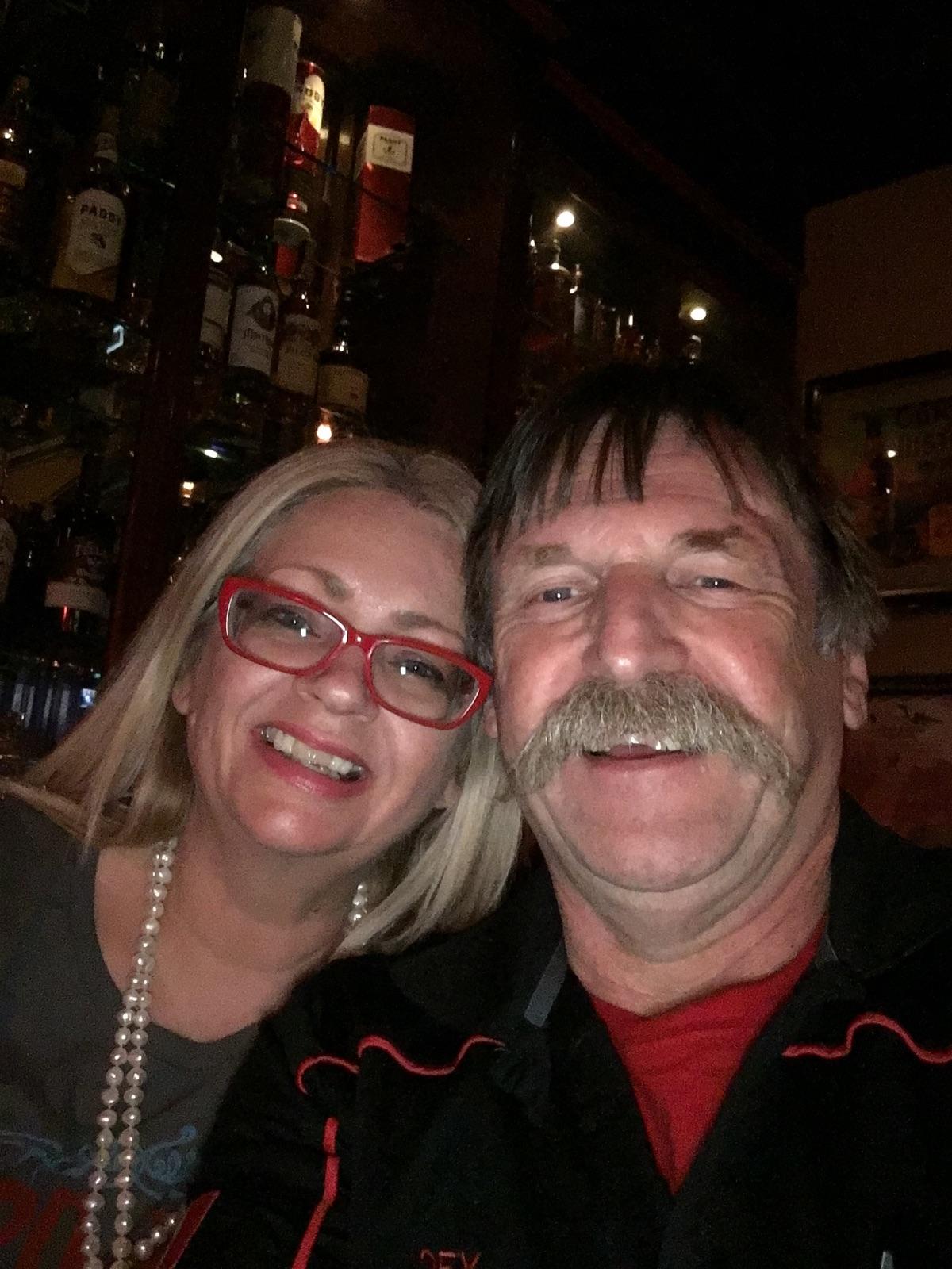 Karen and Joey